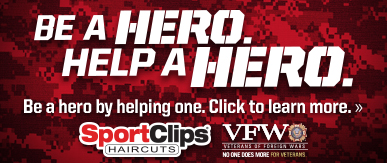Sport Clips South Loop Chicago ​ Help a Hero Campaign