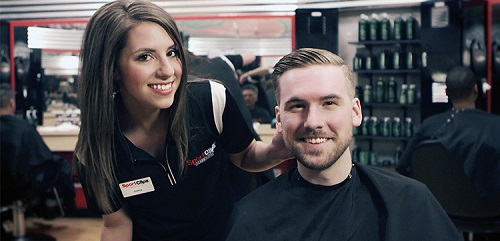 Sport Clips Haircuts of South Loop Chicago ​ stylist hair cut